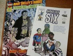 Comic book & Graphic Novel work from U of Dundee Master's Degree students