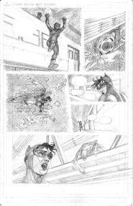 Catwoman page by Jonathan Younadim