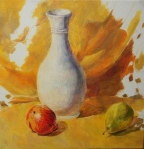 Representational Painting by Hannah Probyn