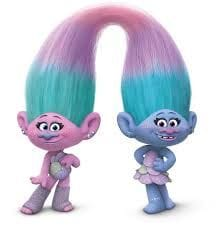 Trolls Characters as they appear in the film...