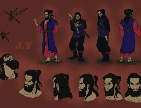 Jonathan Younadim_Character Design_year 3