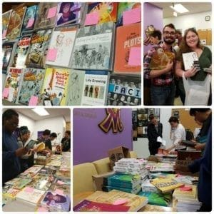 Orientation Week 2017 Labyrinth book sale
