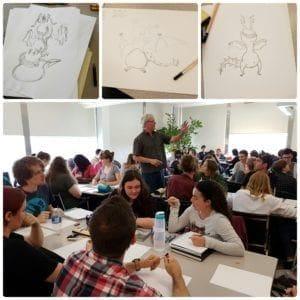 Kent Burles 4 min drawing challenge
