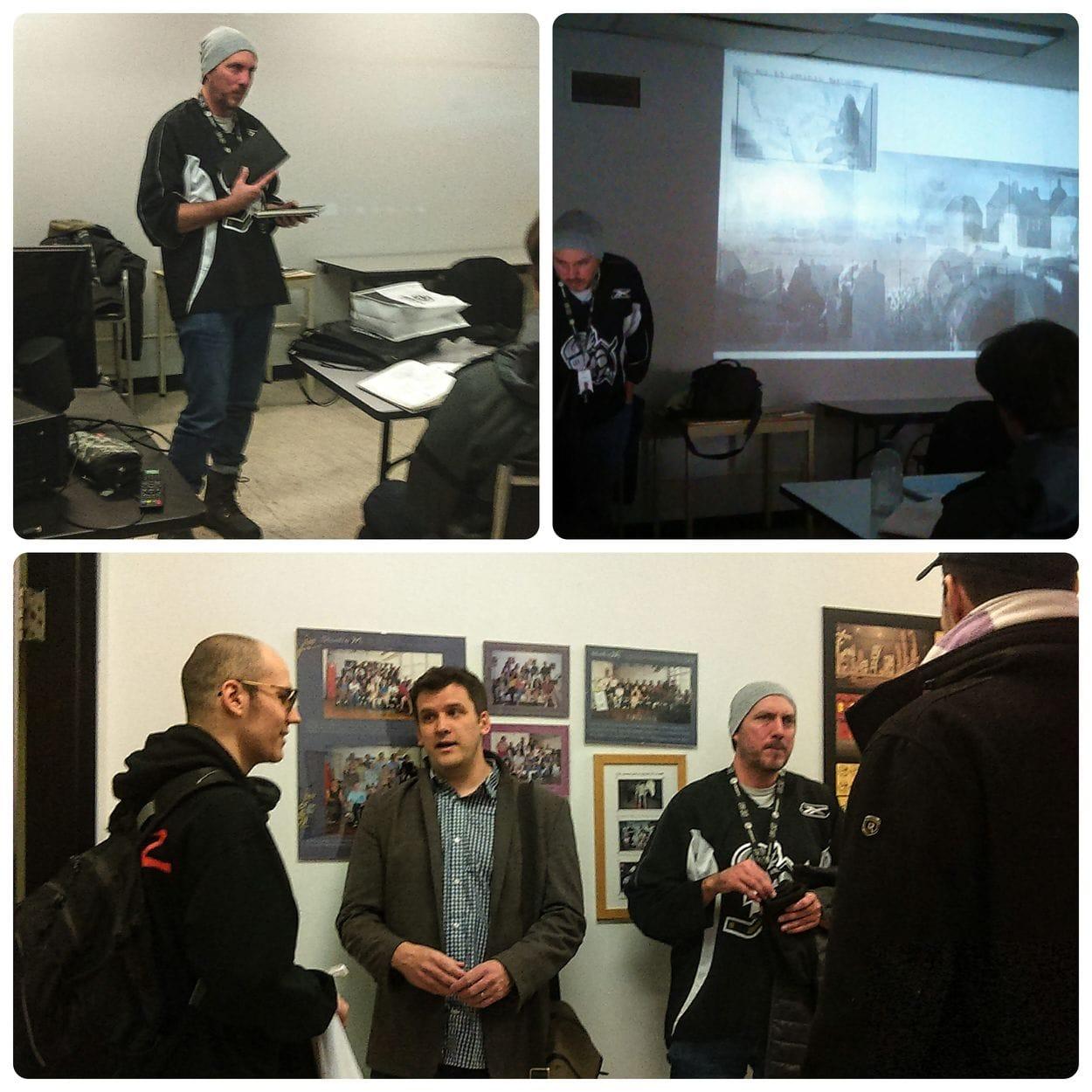 Visit from Ubisoft Art Director- Patrick Ingoldsby - Jan 17/19