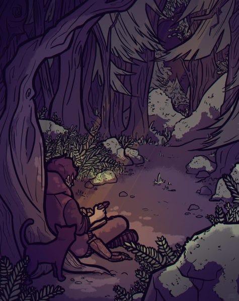 Carolina Baumgarten xander illustration