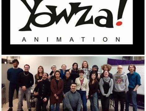 A visit from YOWZA animation