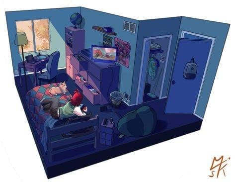 Melissa Kalnitsky Jules-bedroom