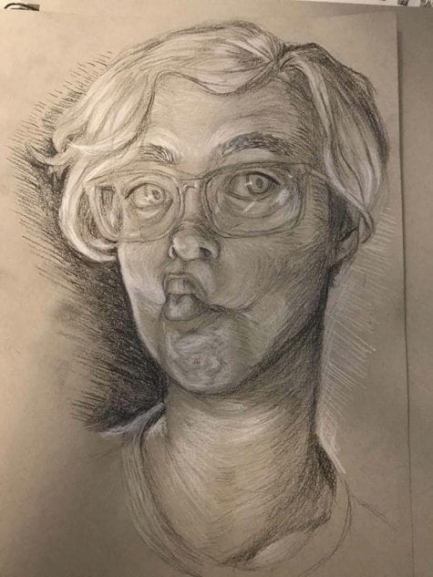 Len_work- self portrait
