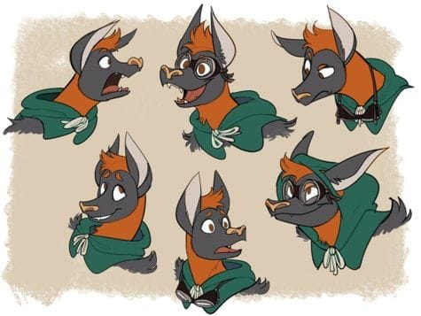 Eden Armstrong bat boy expressions