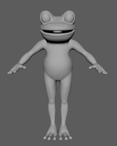 Saffron Thornhill Frog 2