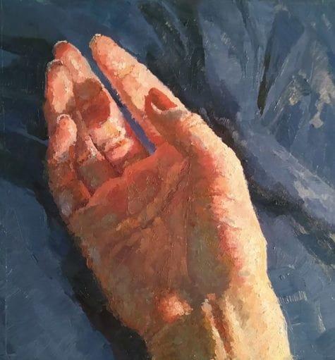 Donna Johnson Hand painting
