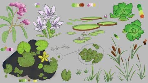 Saffron Thornhill Swamp studies plants