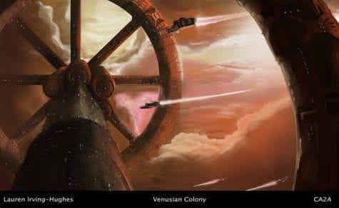 Venusian Colony Lauren Irving Hughes