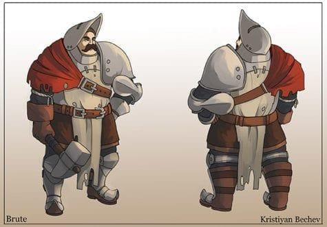 Kristiyan Bechev_Character Design_CA3_2020_Brute 2