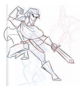 Rachel Simon_Fredryck Clean_Drawing for Animation_AP4
